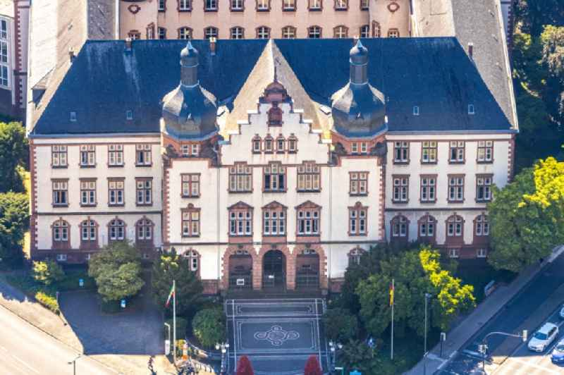 Town Hall building of the city administration on Theodor-Heuss-Platz in Hamm in the state North Rhine-Westphalia, Germany
