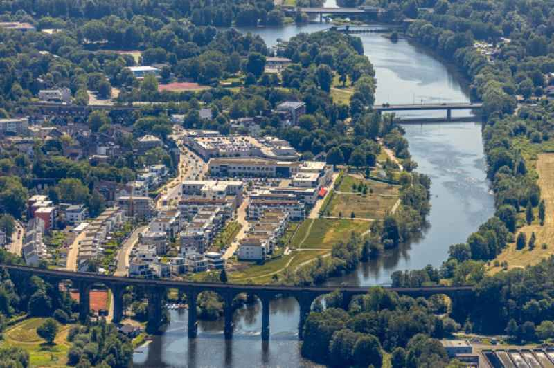 Multi-family residential complex in residential Ufer-Viertel former Westfalia- Gelaende in the district Westende in Herdecke in the state North Rhine-Westphalia