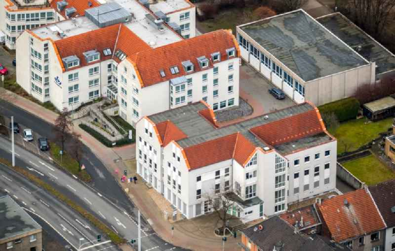 Court- Building complex of the labor court of Herne on Schillerstrasse in Herne in the state North Rhine-Westphalia, Germany