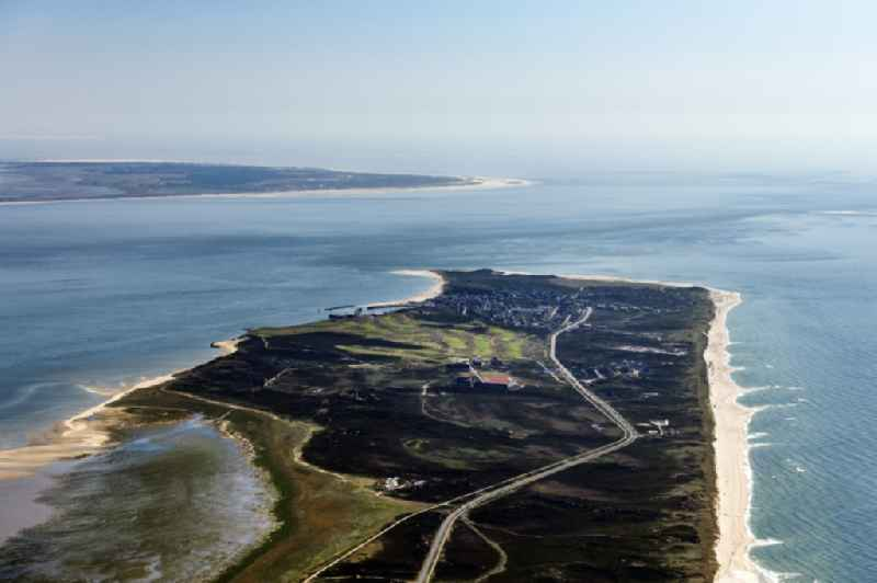 Coastal area Hoernum-Odde - Island in Hoernum (Sylt) in the state Schleswig-Holstein, Germany