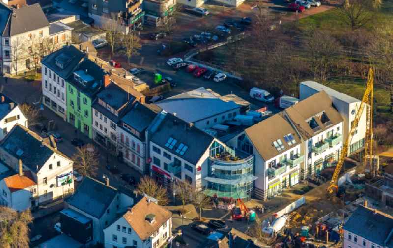 New construction of a residential and commercial building Am Emscherpark - Hauptstrasse in the district Brackel in Holzwickede in the state North Rhine-Westphalia, Germany
