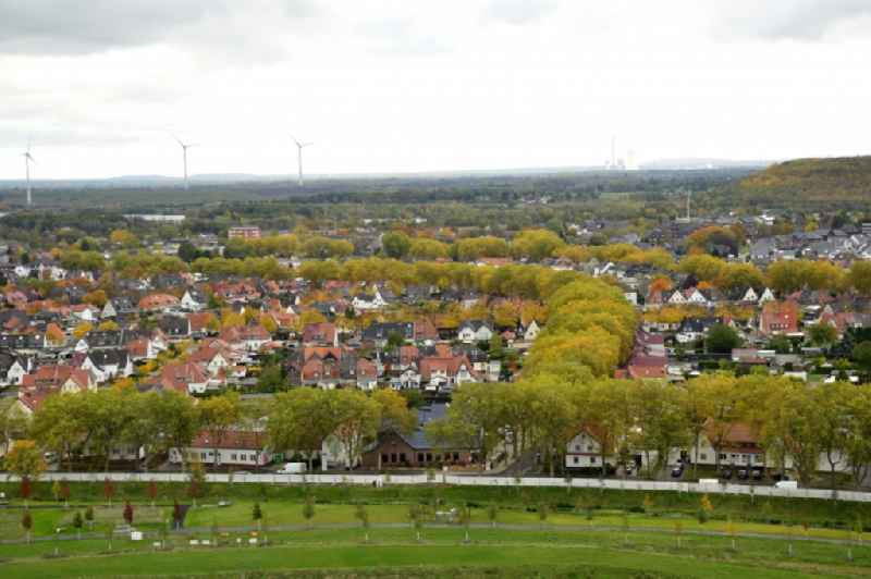 Outskirts residential in Kamp-Lintfort in the state North Rhine-Westphalia, Germany
