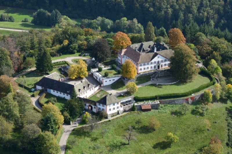 Castle of Buergeln in the Black Forest in Schliengen in the state Baden-Wurttemberg, Germany.