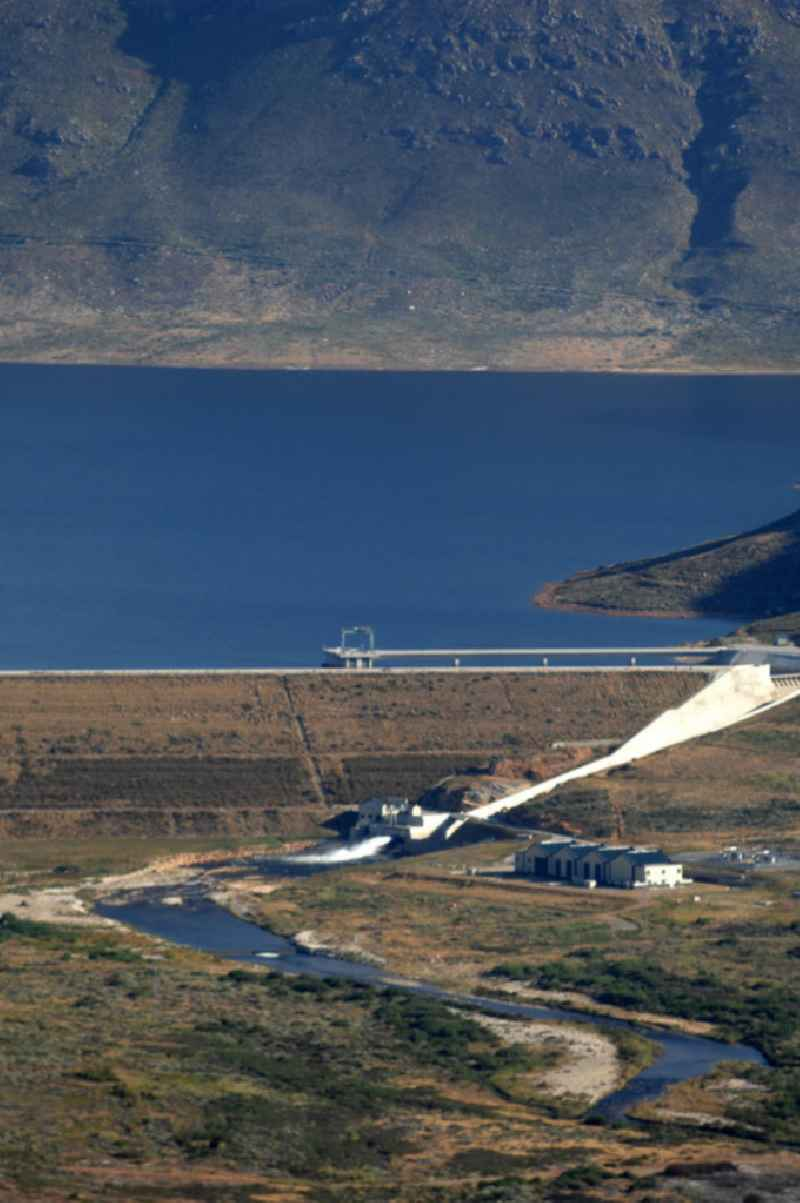 The Wemmershoek Dam to the east of Cape Town was built in 1957.