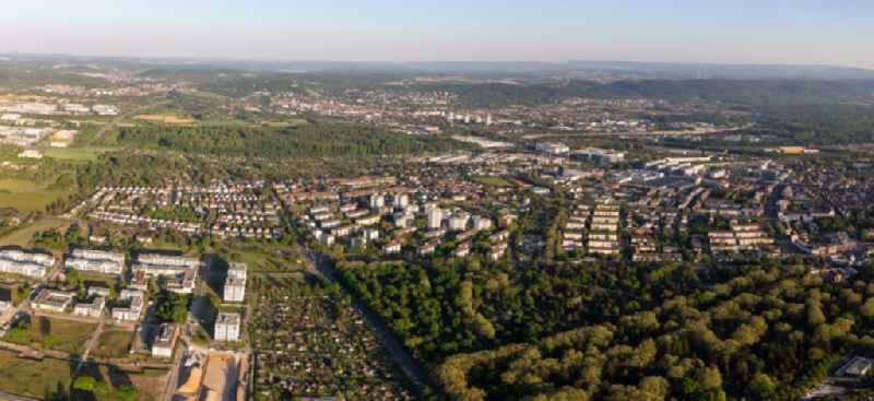 District Oststadt in the city Karlsruhe in the state Baden-Wuerttemberg, Germany