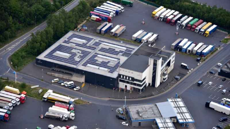 Company premises of the company Coppeneur et Compagnon GmbH in Koenigswinter in the state North Rhine-Westphalia, Germany