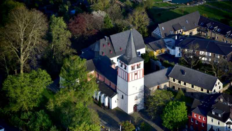 The parish church of St. Pankratius in Oberpleis in the state North Rhine-Westphalia, Germany