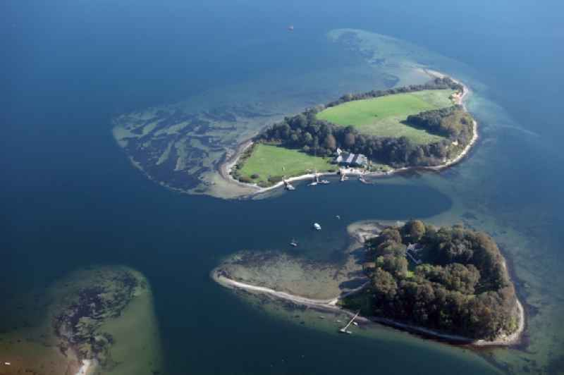 The ox islands in the Flensburg Fjord, near the small town of Sonderhav belong to Denmark