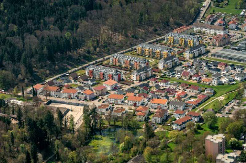 Building complex of the former military barracks in Lahr/Schwarzwald in the state Baden-Wurttemberg, Germany