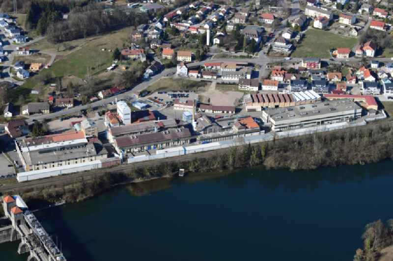 Former company grounds and facilities of the H.C. Starck, factory Enag, in Laufenburg in the state Baden-Wurttemberg, Germany. Since 2018 the powder division belongs to the swedish company Hoeganaes