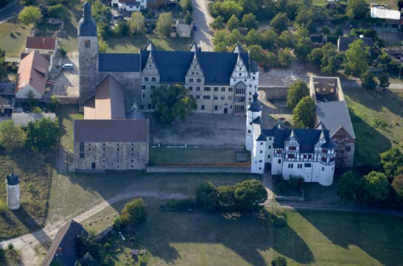 Castle of in Leitzkau in the state Saxony-Anhalt, Germany