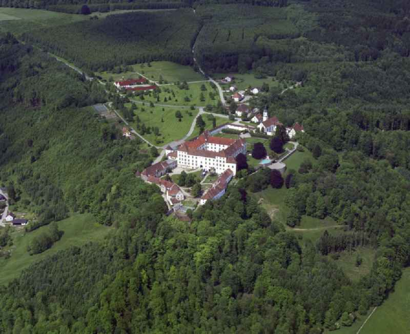 Castle of Schloss Zeil in Leutkirch im Allgaeu in the state Baden-Wuerttemberg, Germany