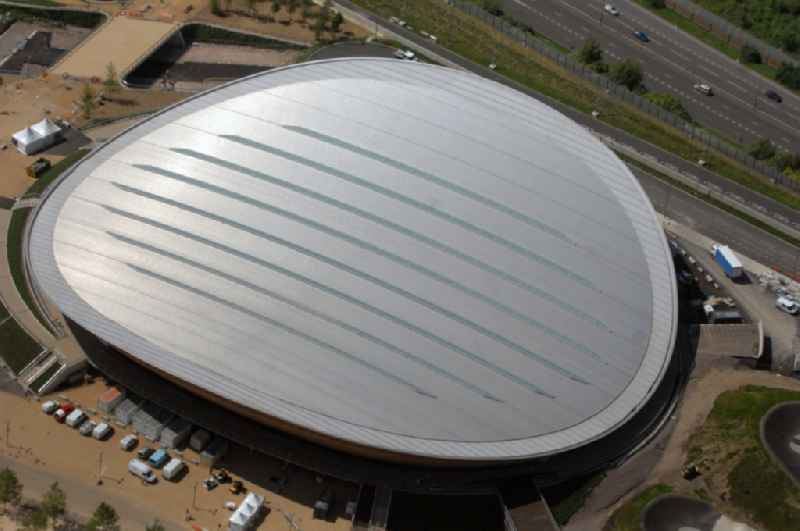 The London Velopark is a cycling centre in Leyton in east London. It is one of the permanent Olympic and Paralympic venues for the 2012 Games. The Velopark is at the northern end of Olympic Park. It has a velodrome and BMX racing track, which will be used for the Games in Great Britain