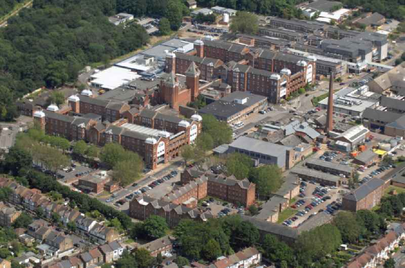 View of the area of Whipps Cross University Hospital in the district Leytonstone in London  in the county of Greater London in the UK. Whipps Cross provides a full range of outpatient and inpatient medical care for approximately 350.000 citizens in the closer and further environment