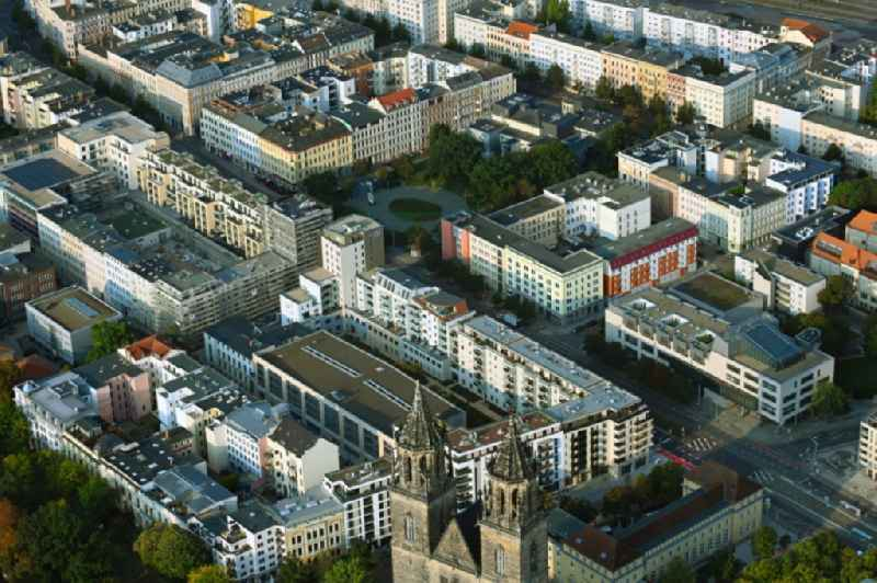 Build a new multi-family residential complex Breiter Weg - Danzstrasse in Magdeburg in the state Saxony-Anhalt, Germany