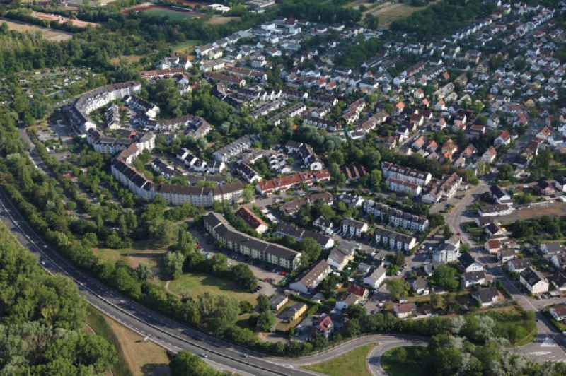 District of Mainz- Laubenheim in the city in Mainz in the state Rhineland-Palatinate, Germany