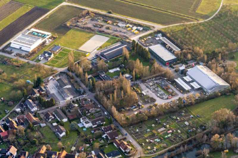 Company grounds and facilities of Zuercher Bau GmbH in Meissenheim in the state Baden-Wurttemberg, Germany