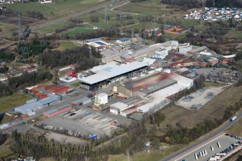 Industrial and commercial area of MTM Industriepark GmbH in Murg and Laufenburg in the state Baden-Wurttemberg, Germany