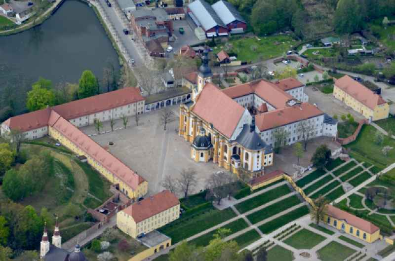 Complex of buildings of the monastery Neuzelle in Neuzelle in the state Brandenburg, Germany