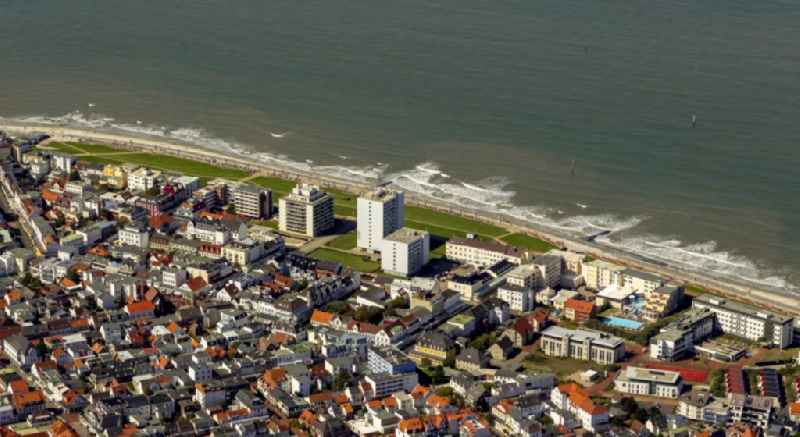 Island of Norderney in Lower Saxony