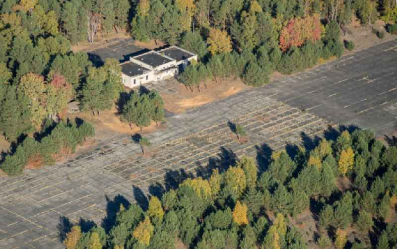 Former soviet airfield Sperenberg in Nuthe-Urstromtal in the state Brandenburg, Germany