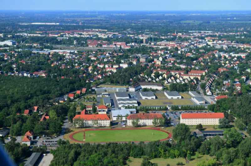 Campus building of the advanced technical college of the advanced technical college of the police of the country Brandenburg in  Oranienburg in the federal state Brandenburg, Germany