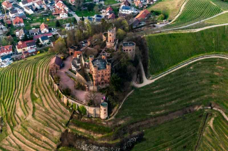 Castle of in Ortenberg in the state Baden-Wuerttemberg, Germany