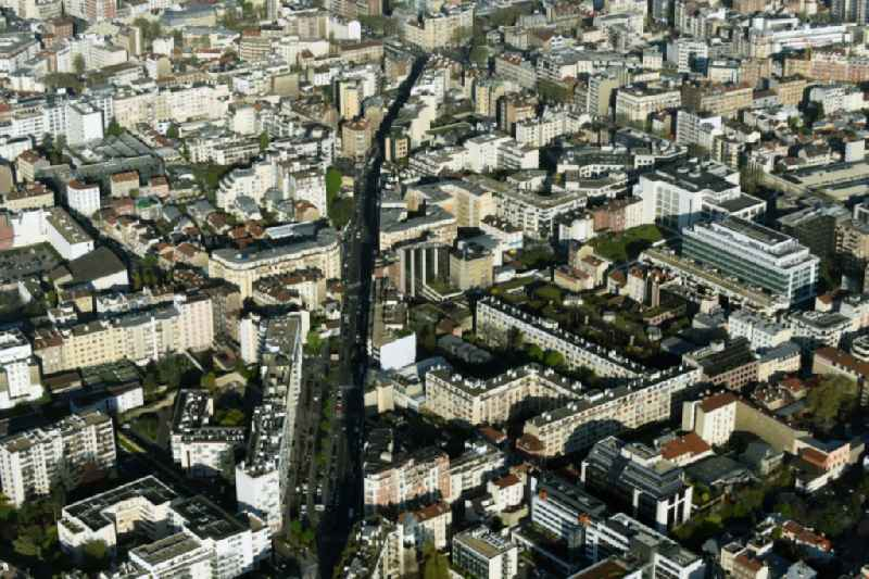 District Boulogne-Billancourt in the city in Paris in Ile-de-France, France