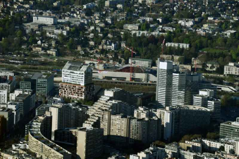 District Suresnes in the city in Paris in Ile-de-France, France
