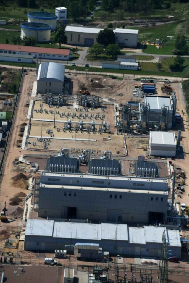 Compressor Stadium and pumping station for natural gas in Peissen in the state Saxony-Anhalt, Germany