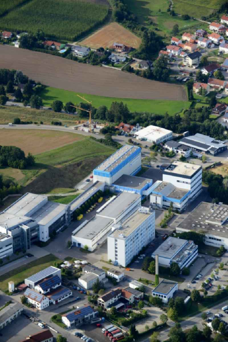 Company grounds and facilities of the pharmaceutical company Daiichi-Sankyo in Pfaffenhofen in the state of Bavaria