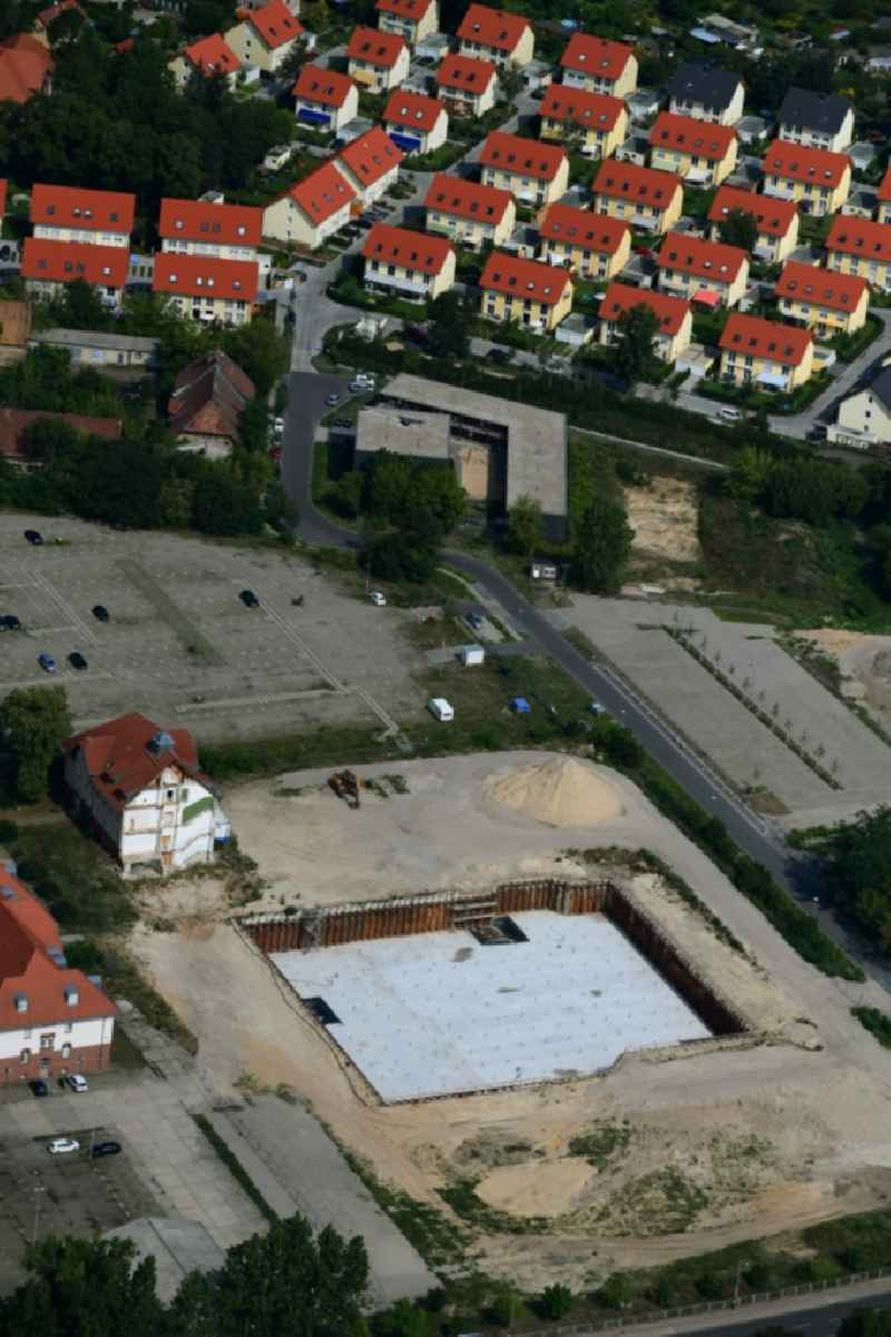 New construction of the 'Federal Police Headquarters' on Horstweg in Potsdam in the state of Brandenburg, Germany