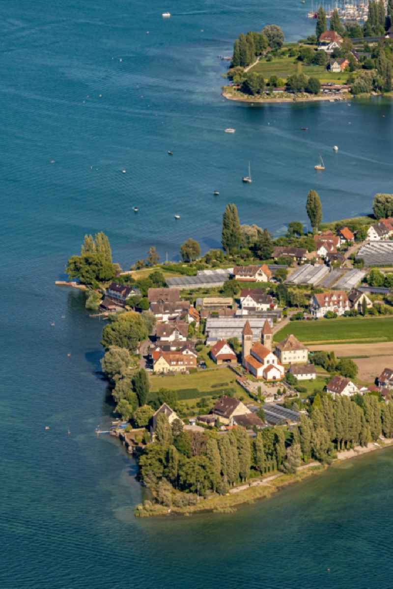 UNESCO World Heritage Site Reichenau Island in Lake Constance in the state Baden-Wuerttemberg, Germany