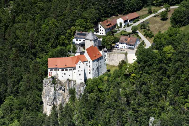 Castle of the fortress Burg Prunn in Riedenburg in the state Bavaria