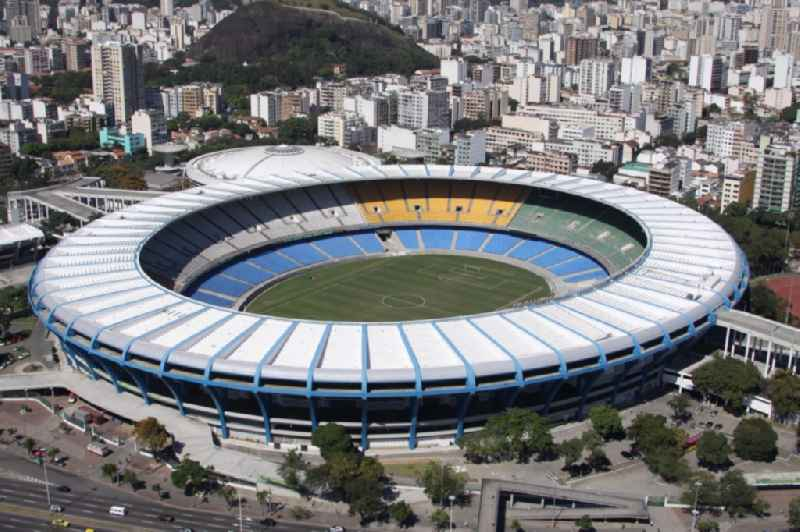 Football stadium and concert hall in Rio de Janeiro, Brazil, during the 2014 FIFA World Cup renovated. The plant is used for soccer games, sports competitions and concerts. Openings for the 15th Pan American Games and the 2016 Summer Olympics and the Paralympics 2016, the hall is used.