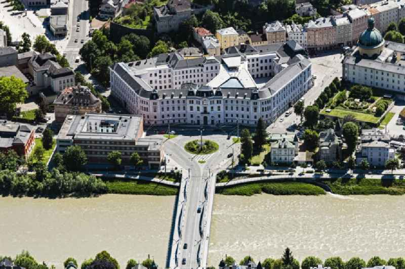 Court- Building complex of the Landesgericht Salzburg in Salzburg in Austria
