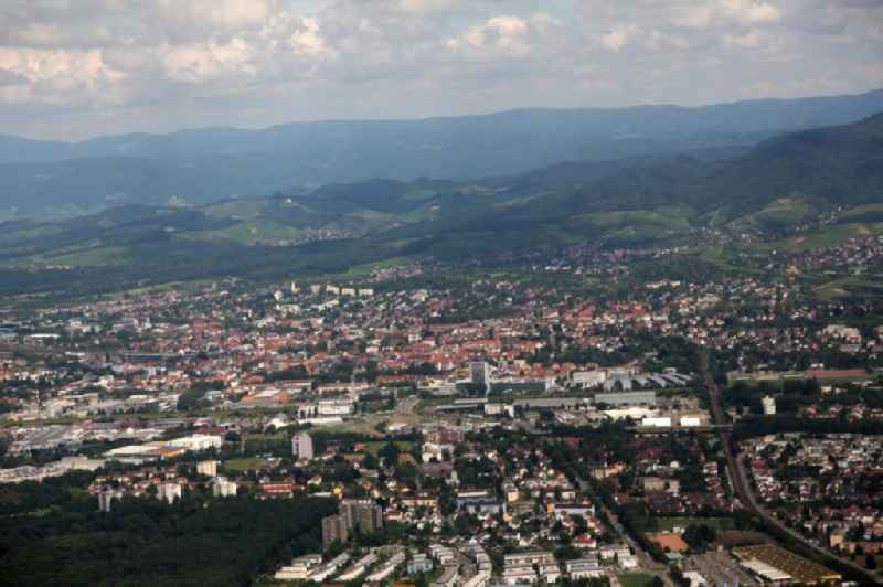 Townscape Schutterwald in the state Baden-Wuerttemberg
