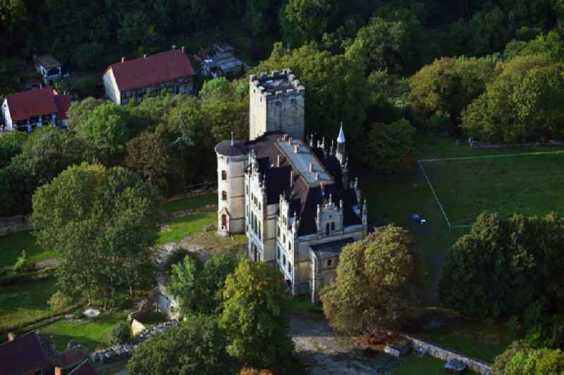 Castle on Schlosshof in Sommersdorf in the state Saxony-Anhalt