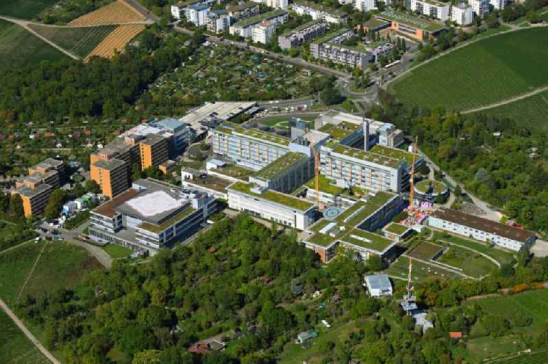Hospital grounds of the Clinic Robert-Bosch-Krankenhaus in the district Bad Cannstatt in Stuttgart in the state Baden-Wurttemberg, Germany