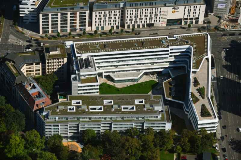Office building ' Suedwestmetall - Verband of Metall- and Elektroindustrie Baden-Wuerttemberg ' on Tuerlenstrasse in Stuttgart in the state Baden-Wuerttemberg, Germany