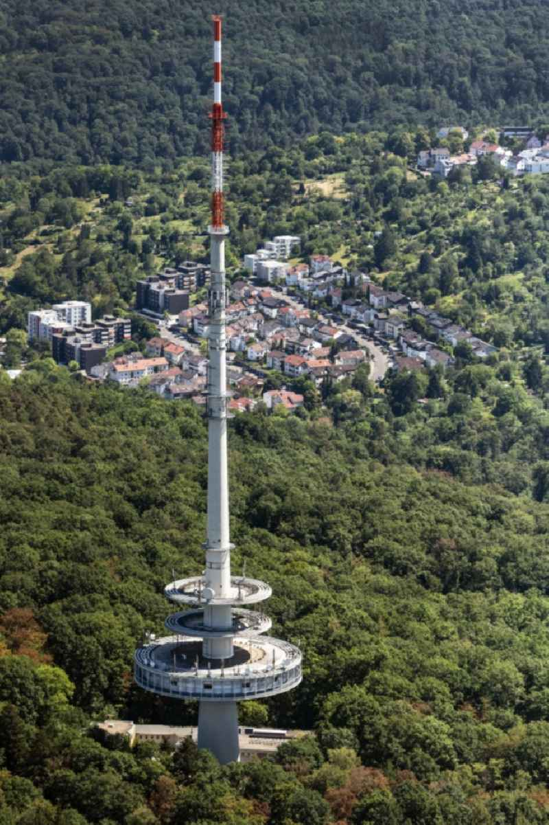 Television Tower on Frauenkopf in Stuttgart in the state Baden-Wuerttemberg, Germany
