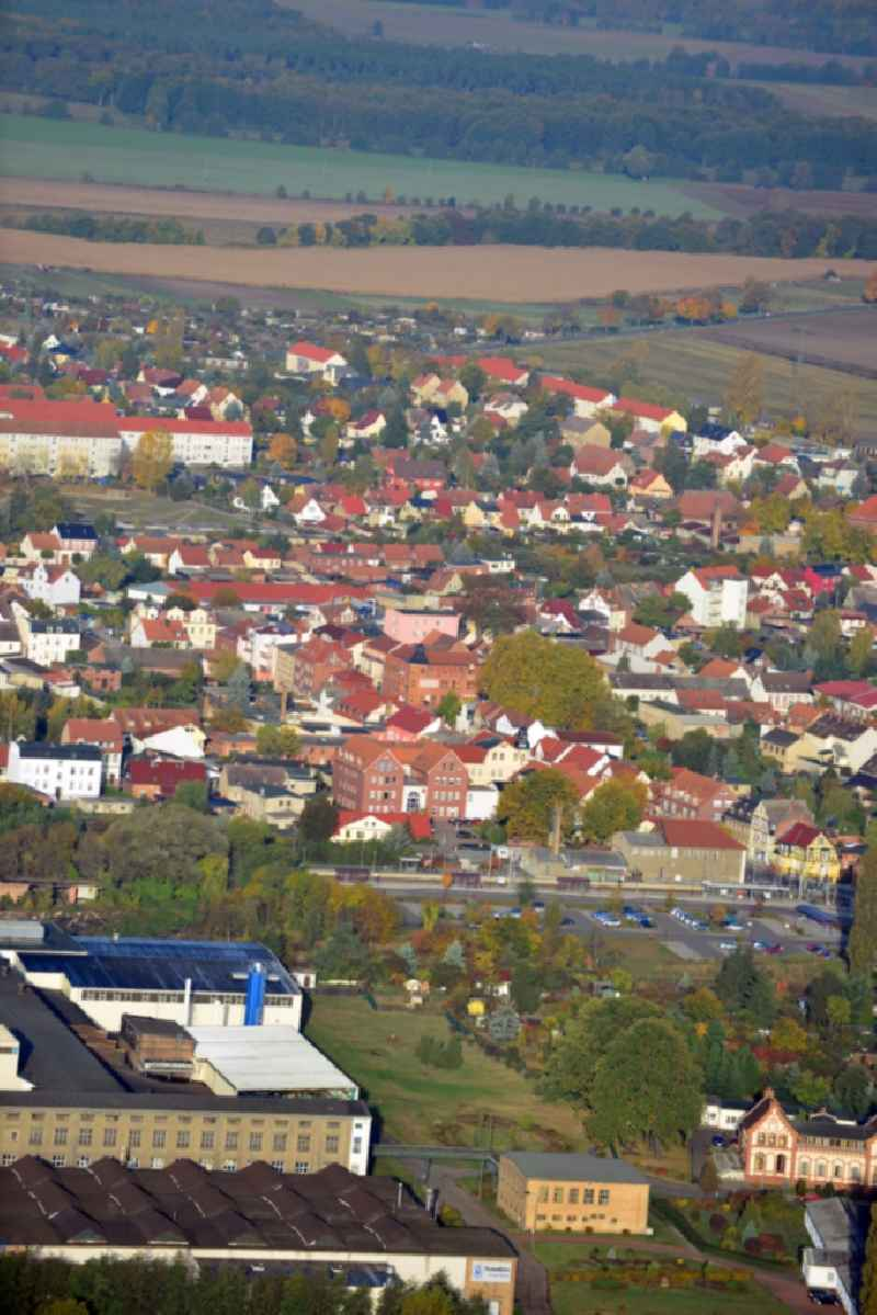 Cityscape of Tangerhütte in the state Saxony-Anhalt