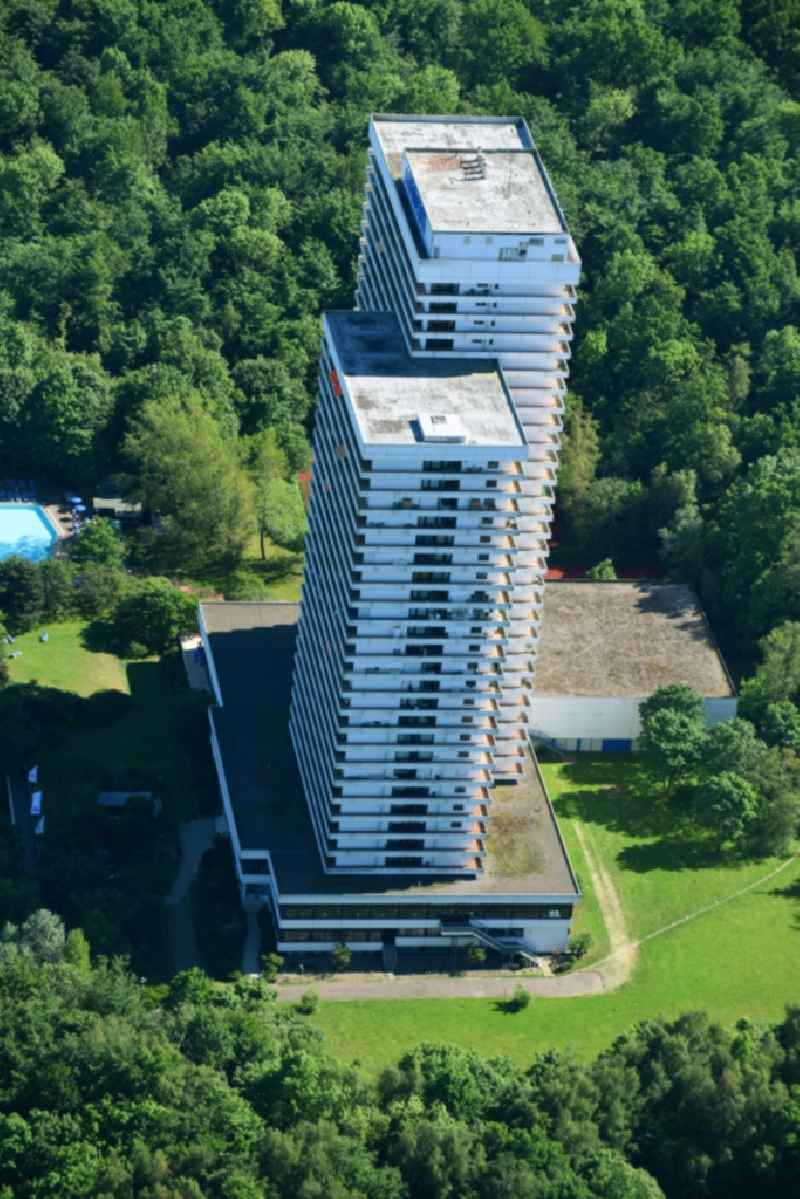 High-rise building of the hotel complex Maritim ClubHotel Timmendorfer Strand in Timmendorfer Strand in the state Schleswig-Holstein, Germany