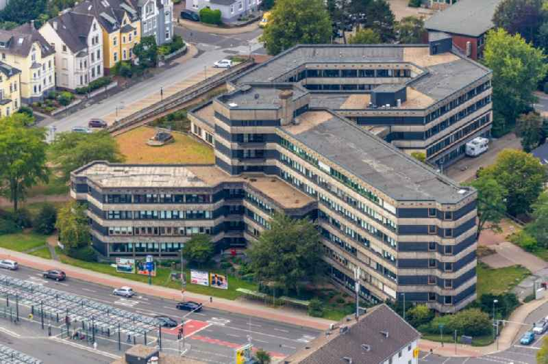 Court- Building complex of the 'Amtsgericht Velbert' and the 'Finanzamt Velbert' on Nedderstrasse in Velbert in the state North Rhine-Westphalia, Germany