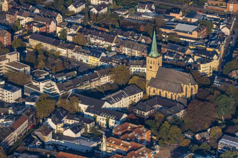 The city center in the downtown area in Viersen in the state North Rhine-Westphalia, Germany