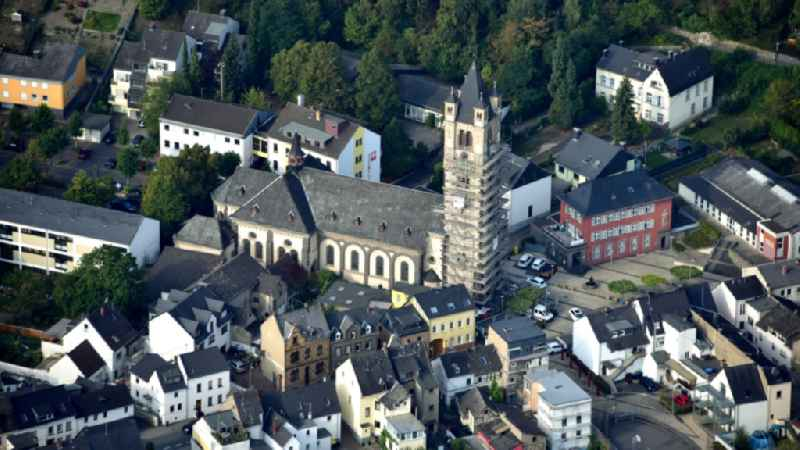 Parish Church of the Holy Trinity in Weissenthurm in the state Rhineland-Palatinate, Germany