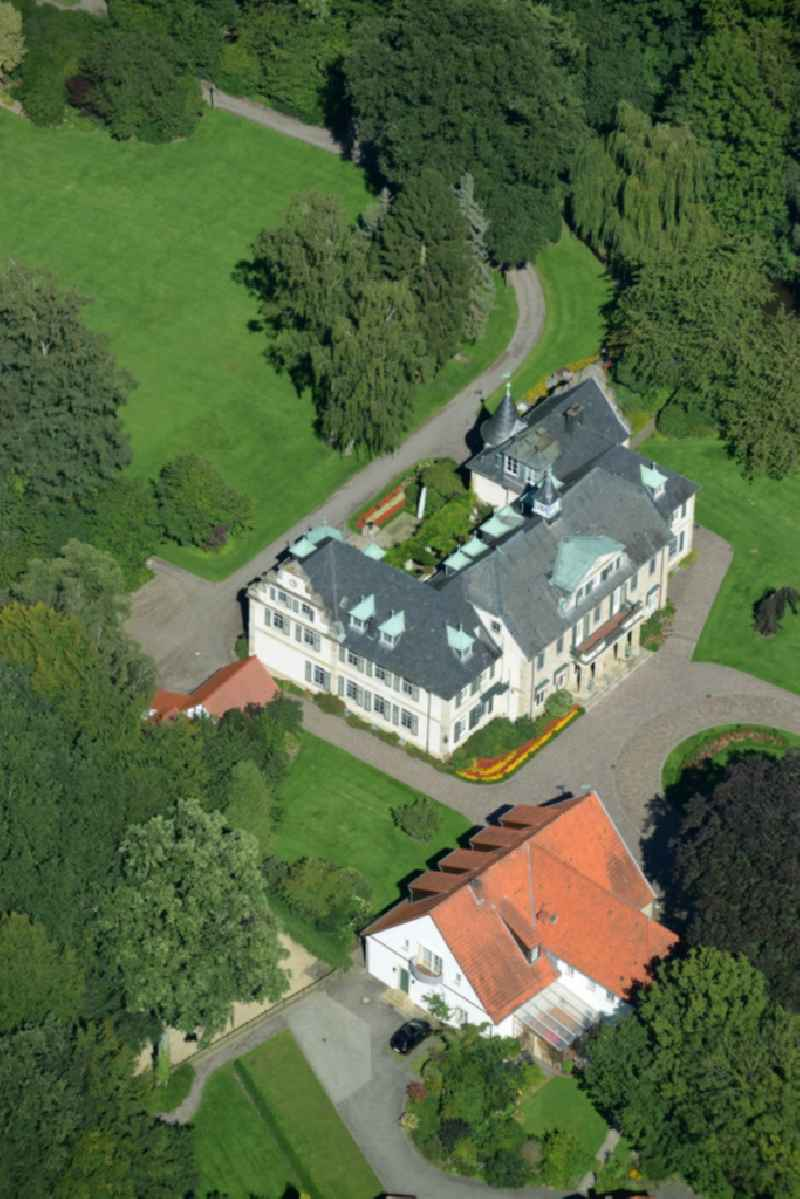 Estate house Langenbrueck with Park and outbuildings in Westerkappeln in the state North Rhine-Westphalia.