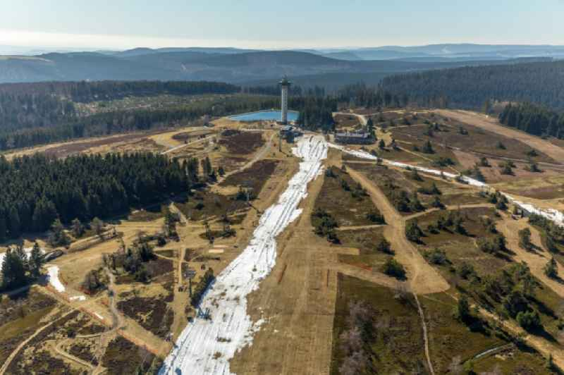 Willinger Hochheideturm next to the Ettelsberg-ropeway near Willingen in Hesse