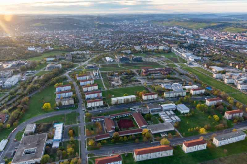 Campus Hubland North of the university Wuerzburg in the district Frauenland in Wuerzburg in the state Bavaria, Germany